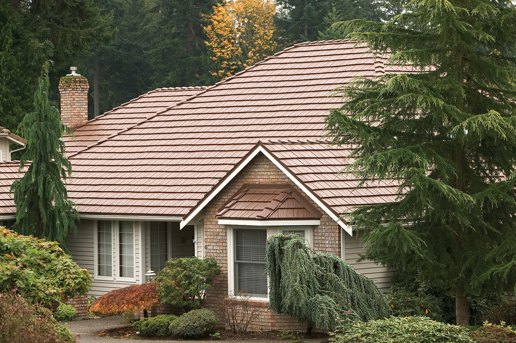 Rustic Shingle Utah Aluminum Roofing